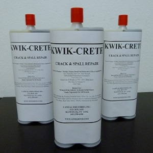 Kwik-Crete Concrete Crack Repair