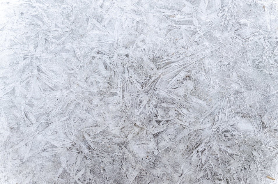 The winter frost and effects on concrete