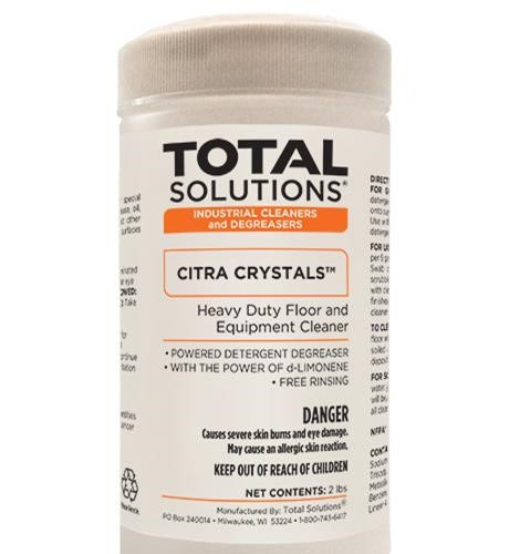 Citra Crystals Heavy Duty Concrete Degreaser