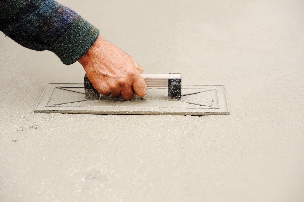 Concrete Floor Repair Easy Fix with KwikBond