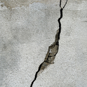 Cracked Concrete Repair with Epoxy
