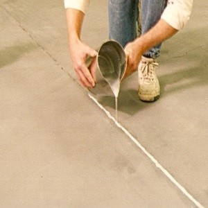 2) Concrete Expansion Joint and Crack Filler Repair