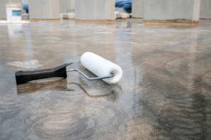 Industrial floor coating for concrete