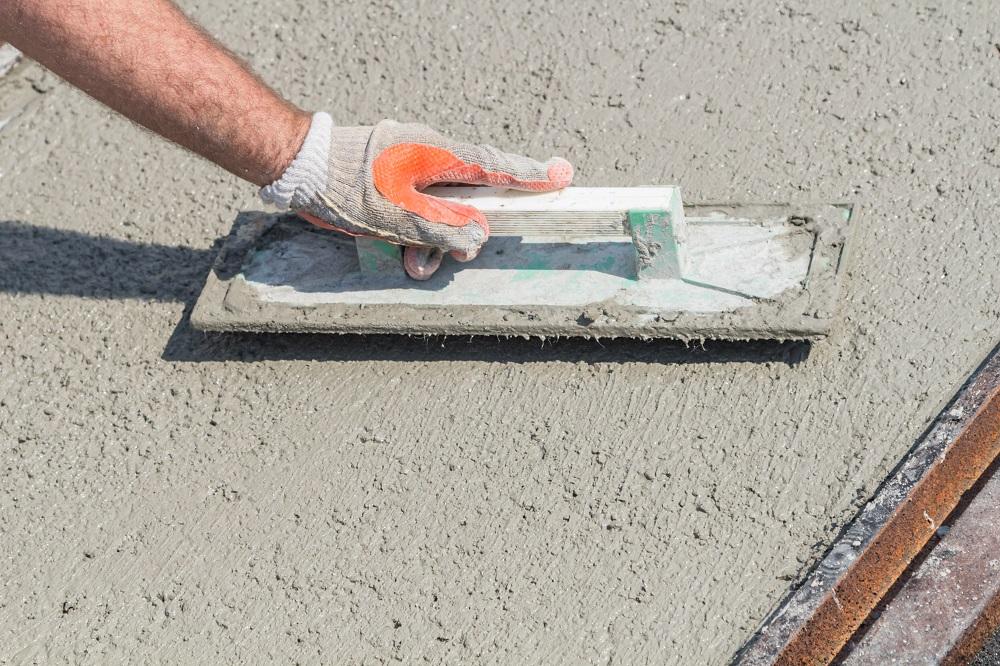 Fix industrial concrete cement crack repair